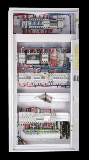 Telecommunication AC panel